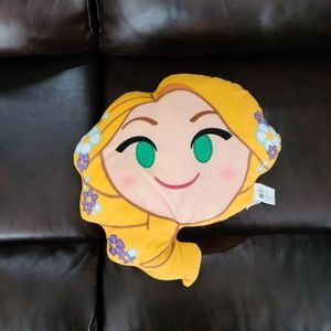 Disney small rapunzel tangled emoji pillow